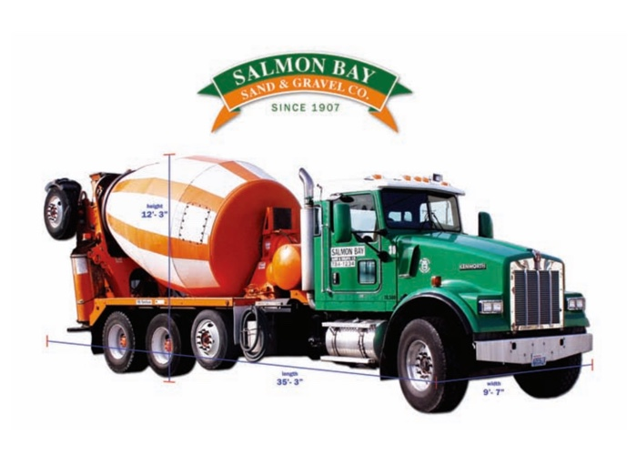 Truck Specifications Salmon Bay Sand Amp Gravel Co