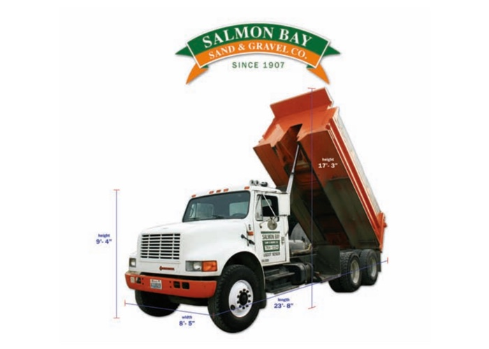 Truck Specifications | Salmon Bay Sand & Gravel Co